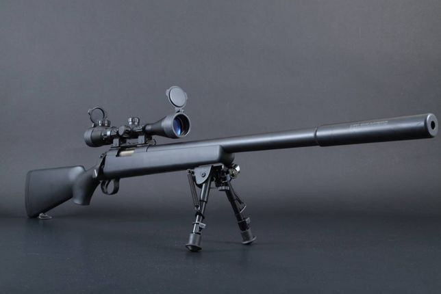 PUSCA-SNIPER-Black Edition-Modificata-Airsoft-AWP-4.2JOULI-Luneta