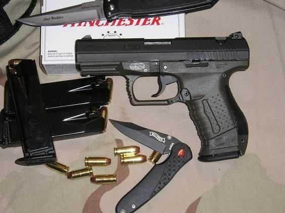 Pistol PUTERNIC Walther P99 DAO Blow-Back/Piedica/Hop Up 4,4j