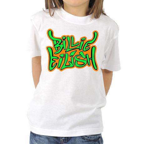 Детски тениски БИЛИ АЙЛИШ / BILLIE EILISH - 8 модела! Или с ТВОЯ идея!