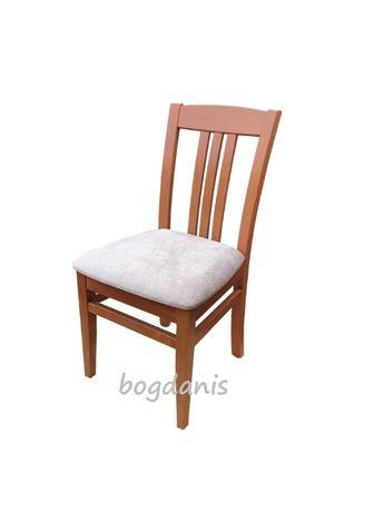 scaun restaurant din lemn masiv tapitat SP 15