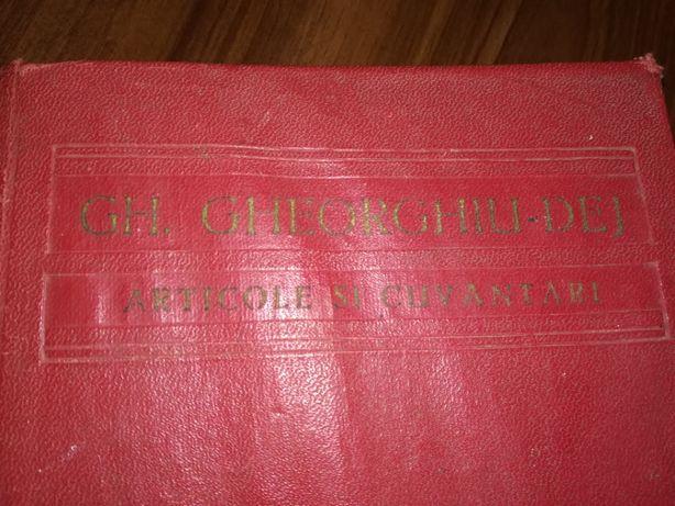 Carte de Gh.Gheorghiu Dej - Articole si cuvantari