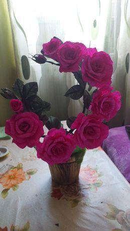 Aranjamente florale din hârtie floristica 60 lei