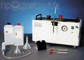 газ генератор оригинален немски с 3 накраиника перфектен