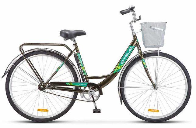 Городской велосипед производства России Stels Navigator 345