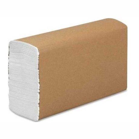 Бумажные полотенце Z сложение, двухслойные