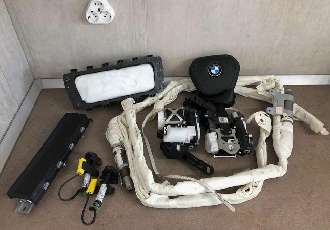 BMW G01 G02 g11 G12 G30 G31 kit airbag volan m pasager cortina X3 X4