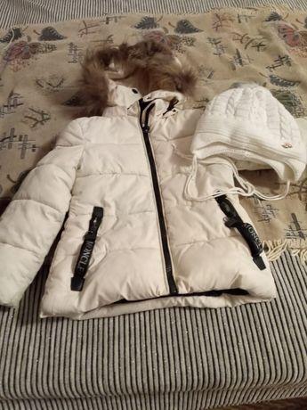 Зимняя куртка на 2-4 1500 тг