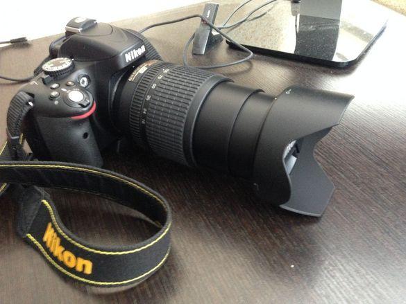 Nikon D5100 + обектив Nikkor 18-105 VR