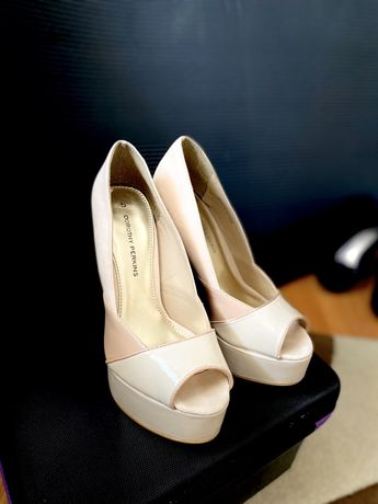Pantofi bej/nude, piele naturala!