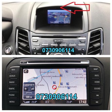 SD Card Harti Ford Navigatie MFD MCA GPS 2020 Focus Fiesta Mondeo etc