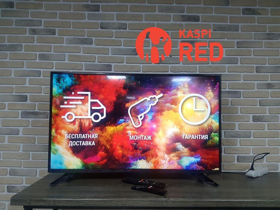Новый Smart TV Shivaki US43H1400 Рассрочка KASPI RED!Гарантия год! Алматы - изображение 1