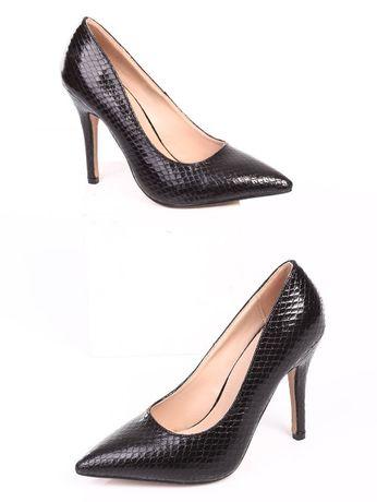 Черни дамски страхотни обувки