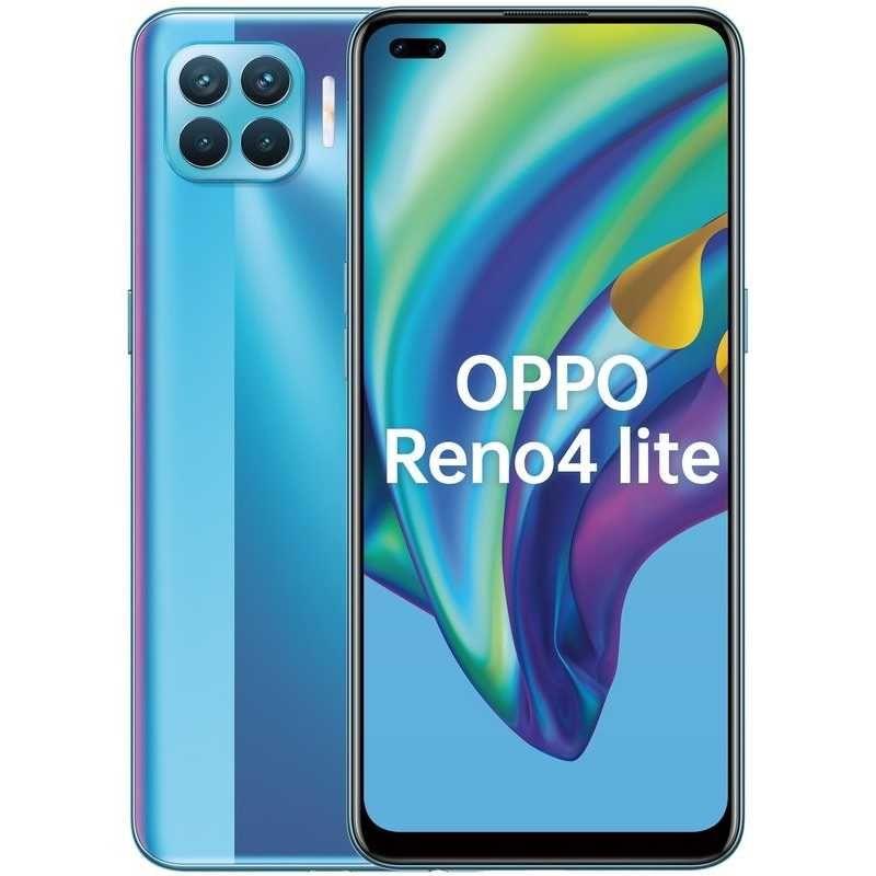 Смартфон OPPO Reno4 Lite, Magic Blue(Бирюзовый)