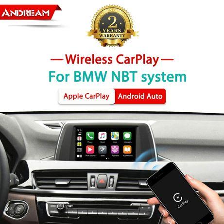 Bmw apple carplay за всички модели с NBT  или CIC.