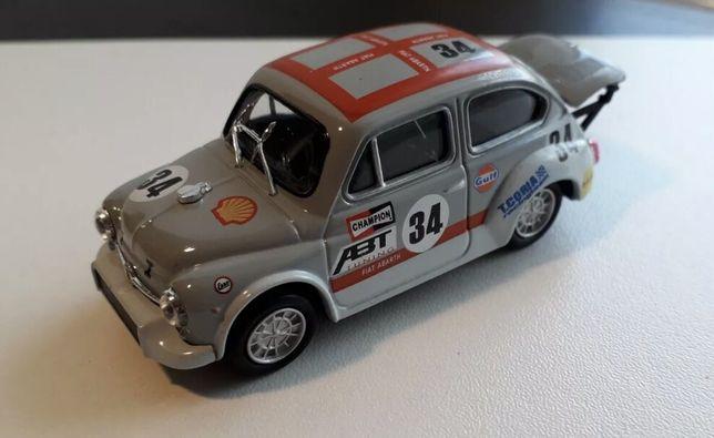 Fiat 500 / 600 Abarth SOLIDO 1:43 ! Macheta extrem de rara !