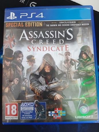 Assassin's creed syndicate. Special Edition за PS4.