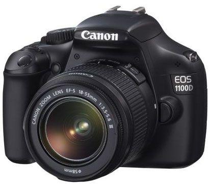 Зеркальный фотоаппарат canon 1100d