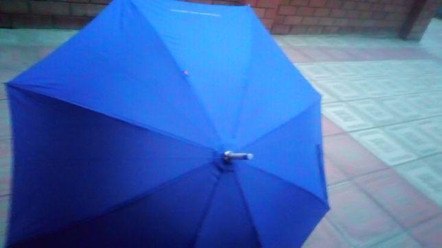 Зонты жёнские два цвета (голубой и светло-жёлтый )