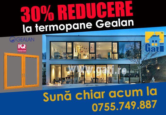 Geamuri termopan închidere balcon // Azi 30% REDUCERE în Bragadiru
