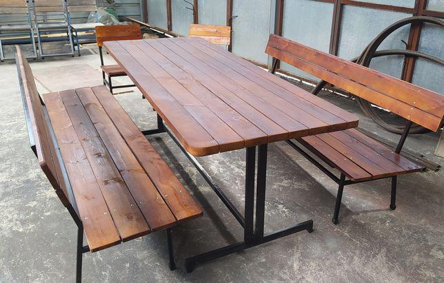 Садовая скамейка, лавочка,стол комплект, табуретка, стул, стиль лофт.