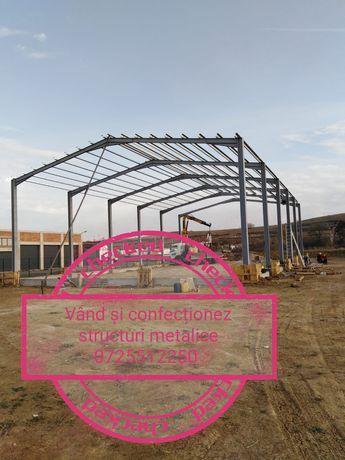 Vând structuri hale metalice 11.70 pe 35m