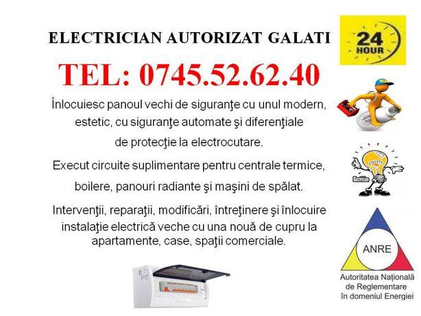 Electrician autorizat GALATI