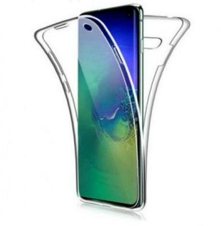 360 Full Cover силикон SAM Galaxy A6+ 2018 прозрачен