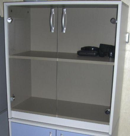 Офис секция- остъклена Пдч с меламиново покритие