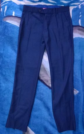 Классические брюки темно-синие