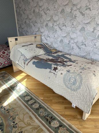 Кровать однаспальная + матрас