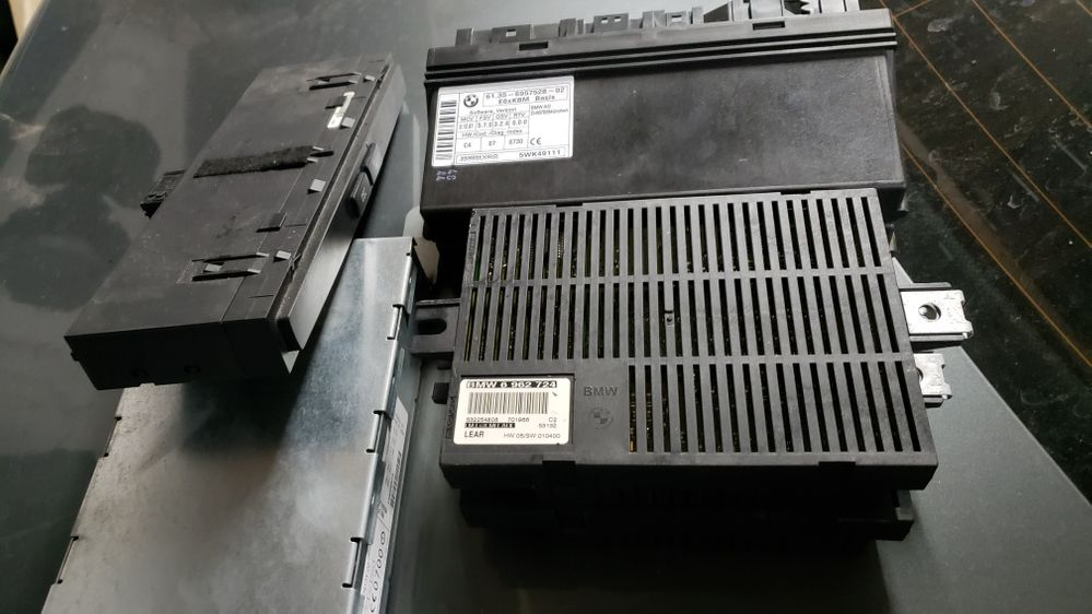 Dezmembrez Bmw E60 Bloc Lumini Calculatoare Module Mufa Cablaj Mufe