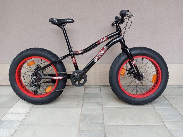 Продавам колела внос от Германия алуминиев велосипед фетбайк MONSTER