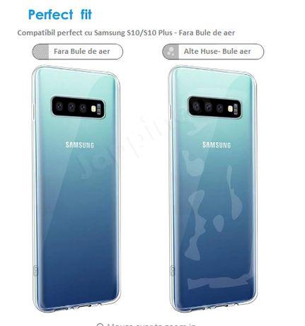 Husa Silicon Samsung S10 Plus, Ultraslim, Transparenta