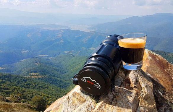 Offroad Coffee: преносима машина за еспресо