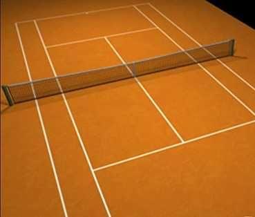 Zgura de diferite granulatii pentru terenuri de tenis