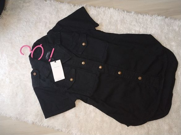 Zara дънкова риза НОВА S