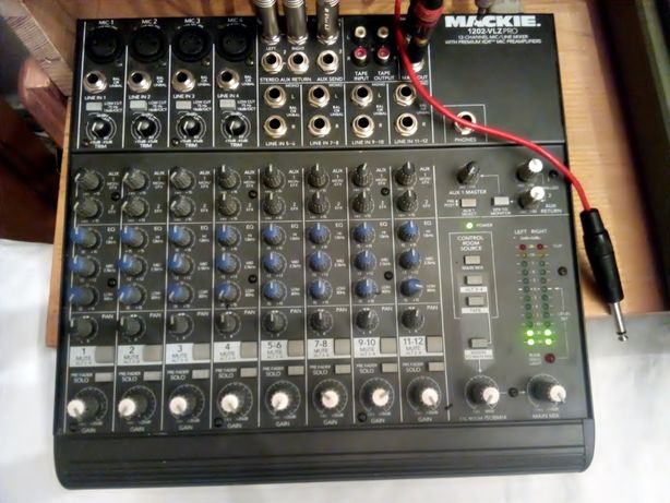 MIXER Mackie 1202 Vlz Pro (Made In USA)