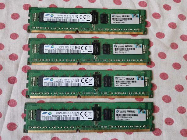 Kit Memorie Ram Samsung 16 GB (4 X 4 GB) 1333Mhz, ECC server/workstati