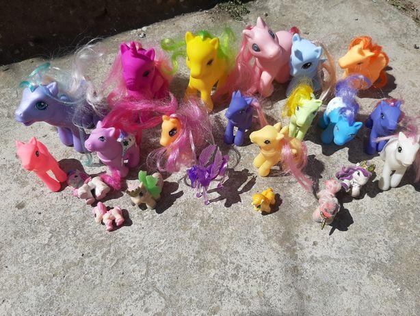Set ponei mici jucarie