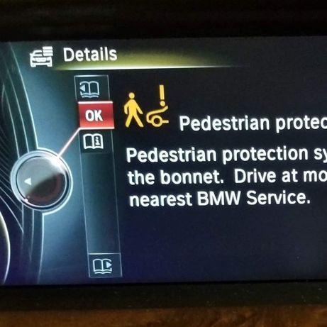 Anulare eroare pedestrian senzor capse balamale broaste capota BMW