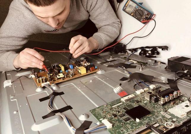 Телемастер на выезд бесплатная диагностика ремонт телевизора Samsung