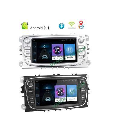 Navigație Android 9, 1/16GB Ford Focus 2, Kuga, S MAX, Galaxy, Mondeo