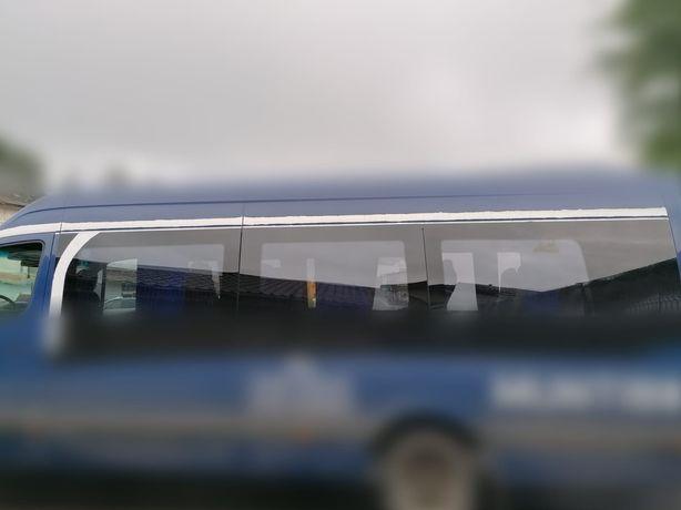 Giamuri panoramice microbuz