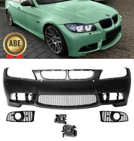 Bara fata BMW E90 Sedan si E91 Touring non LCI, M3 Design, PDC si SRA
