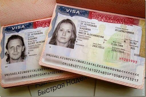 Виза в США, туристические и студенческие