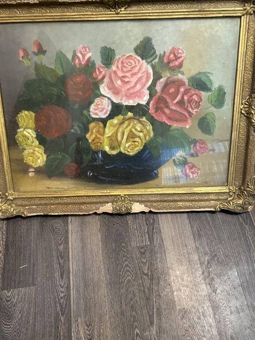 Tablou cos cu flori Bucuresti - imagine 1