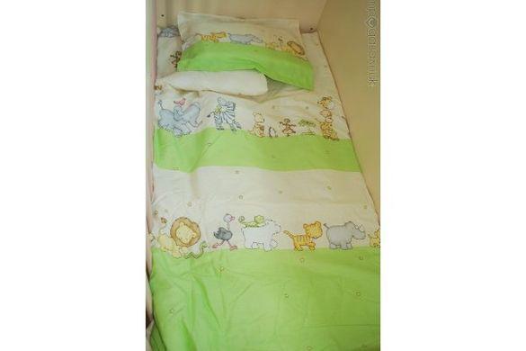 спален комплект за бебе 11 части - 100% памук
