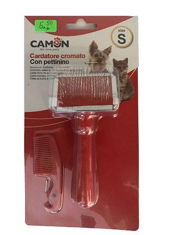 Camon - Четка за Разресване/Почистване - Куче / Котка - S, M, L