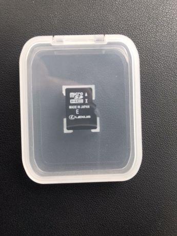 SD card navigație original Lexus/Toyota