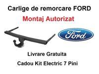 Carlig Remorcare FORD Focus Combi 2005-2011 Livrare Gratuita-Omolgat